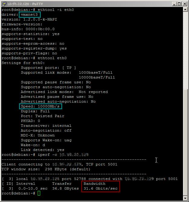 VMXNET3 = 10GbE ? « Hypervisor fr